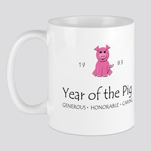 """Year of the Pig"" [1983] Mug"